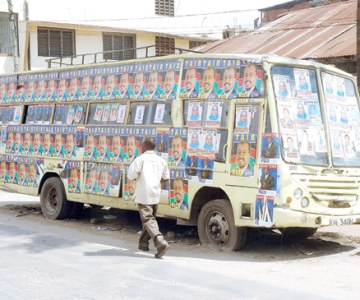 2007 Election Campaign in Kenya