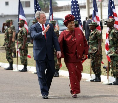 President Bush Makes Historic Visit to Liberia
