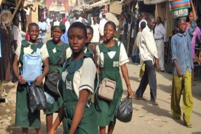 Nigerian school girls (file photo).