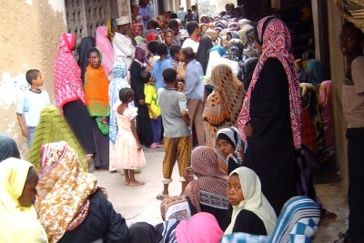 Many divorced Tanzanian women abandoned by their husbands turn up on Stone Town's streets on Friday to beg for money near mosques and well-off residential areas.