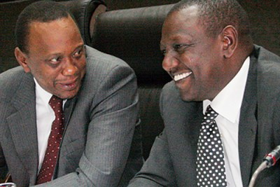 Finance Minister Uhuru Kenyatta, left, and suspended cabinet minister William Ruto are among the politicians international prosecutors want to charge for post-election violence in Kenya.