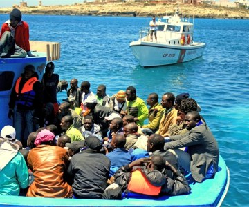 Libyan Nationals Flee to Lampedusa