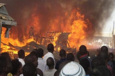 Education under attack as classrooms burn.