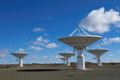 Radio dishes for the KAT-7 array.