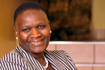 South Africa's first female National Police Commissioner, Mangwashi Victoria Phiyega.