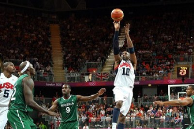 D'Tigers vs USA at London 2012 Olympics