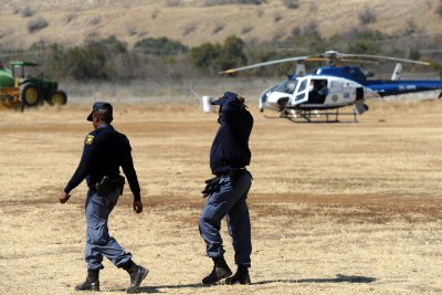 Police on standby if violence erupts at Lonmin's troubled Marikana mine in the North West, Tuesday, 14 August 2012