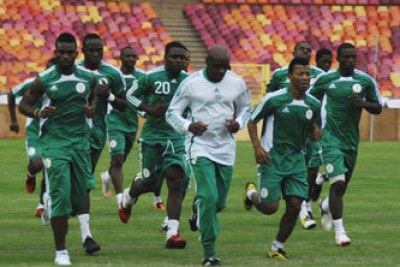 The Eagles in training (file photo).