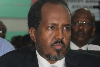 President Hassan Sheikh Mohamud.
