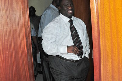 Principal accountant Geoffrey Kazinda is among the suspended officials from the OPM.