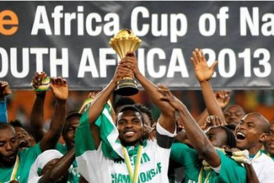 Nigeria's Super Eagles, the Afcon 2013 Champions (file photo).