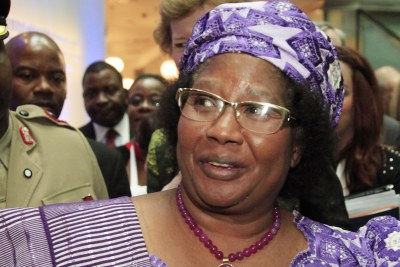 Former president of Malawi Joyce Banda (file photo).