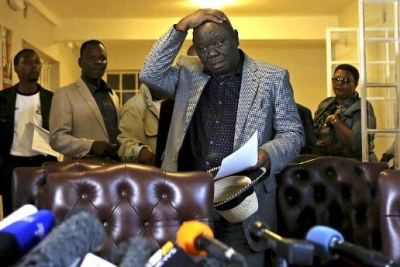 Movement for Democratic Change leader Morgan Tsvangirai (file photo).