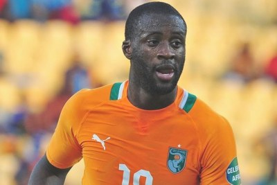 Yaya Toure, African Footballer of the Year.