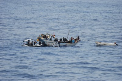 Somali pirates (file photo).