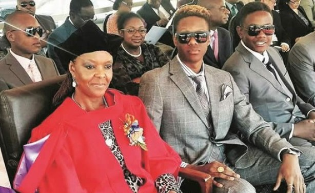 Grace Mugabe In Emergency South Africa Trip Allafrica Com