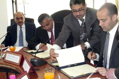 The loan agreement was signed on behalf of the Government of the Republic of Tunisia by His Excellency Mr. Yassin Ibrahim, Minister of Development, Investment and International Cooperation, in attendance of His Excellency Mr. Fahad Ahmed Al-Awadhi, Ambassador of the State of Kuwait to Tunisia.