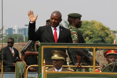 President Pierre Nkurunziza celebrated the 53rd anniversary of the independence of Burundi at Prince Louis Rwagasore stadium.