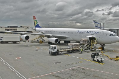 South African Airways Airbus A340 (file photo).