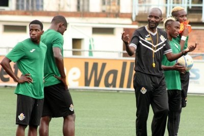 Zimbabwe warriors coach Callisto Pasuwa.