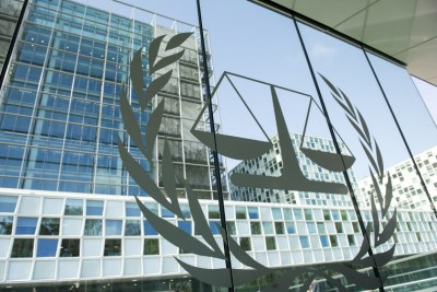 A view of the International Criminal Court (ICC) premises.