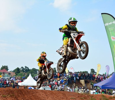 Uganda Siblings Taking Motocross by Storm