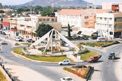 A view of Dodoma municipality Central Business District.
