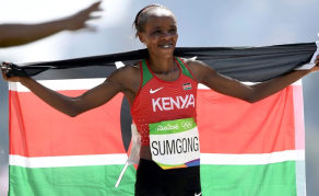 Athletics Kenya Shocked by Sumgong's Drugs Test Fail