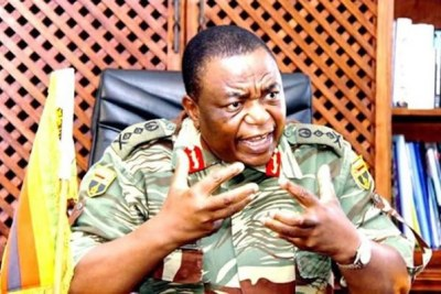 Zimbabwe Army General Constantine Chiwenga (file photo).