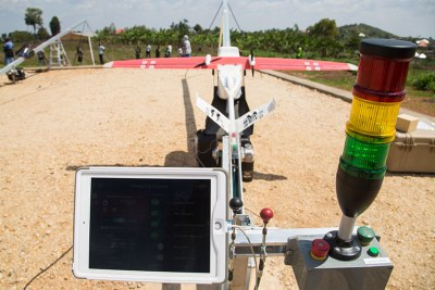 Rwanda Using Drones to Save Lives