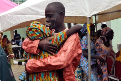 Chibok girls in tearful reunion with families.