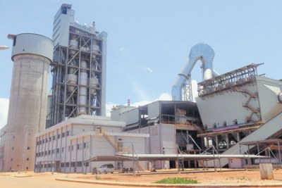Dangote cement plant in Mtwara.