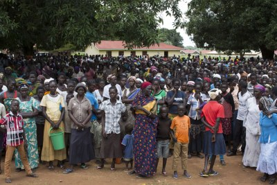 Displaced people (file photo)