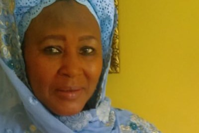 Fatoumata Tambajang, the newly appointed Vice President of Gambia.
