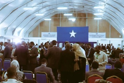 Somali members of parliament ready to vote in a new president.