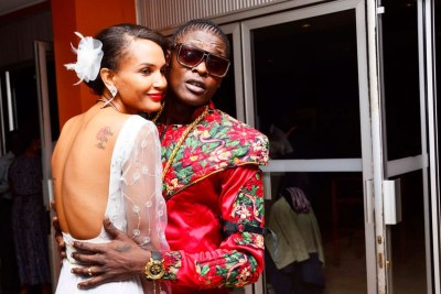 Jose Chameleone and Wife Daniella.