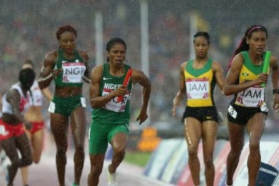 Nigeria's Women's Relay Team