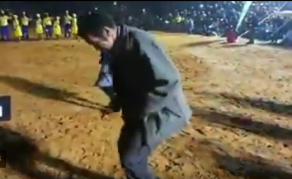 Botswana Leader Khama Shows Off His Dance Moves - VIDEO