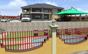 Uganda The Ideal House Plan for a Hilly Area allAfrica