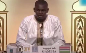 Gambian Comes Third in International Qu'ranic Recitation Contest