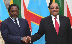 DRC President Kabila Makes State Visit to South Africa