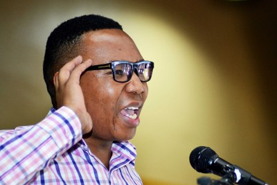 Deputy Minister of Higher Education and Training Mduduzi Manana.