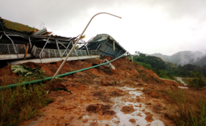 Mudslide Causes Damage To Mining Company in Liberia