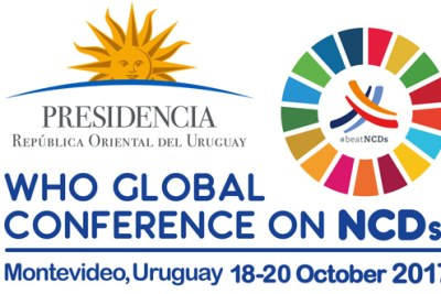 WHO Global Conference on Noncommunicable diseases: Enhancing policy coherence between different spheres of policy making that have a bearing on attaining SDG target 3.4 on NCDs by 2030 | Montevideo, Uruguay, 18-20 October 2017