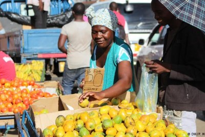 Zimbabwean food vendor (file photo).