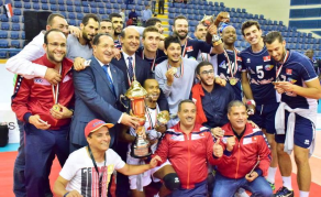 La Tunisie championne d'Afrique de la CAN 2017 de Volley-ball