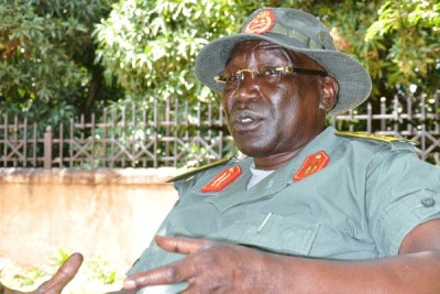 Former South Sudan Chief of Staff General Paul Malong