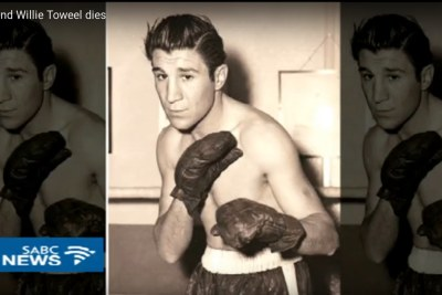 Boxing legend Willie Toweel