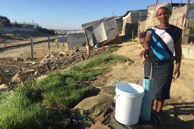 Cape Town's Siyahlala informal Settlement Already Seeing Day Zero