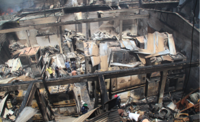 Fire Razes Major Liberian Shopping District